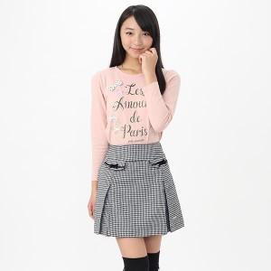 【オンライン限定商品】ロゴプリント長袖Tシャツ