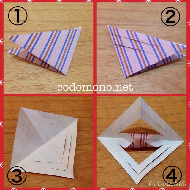 折り紙オーナメント