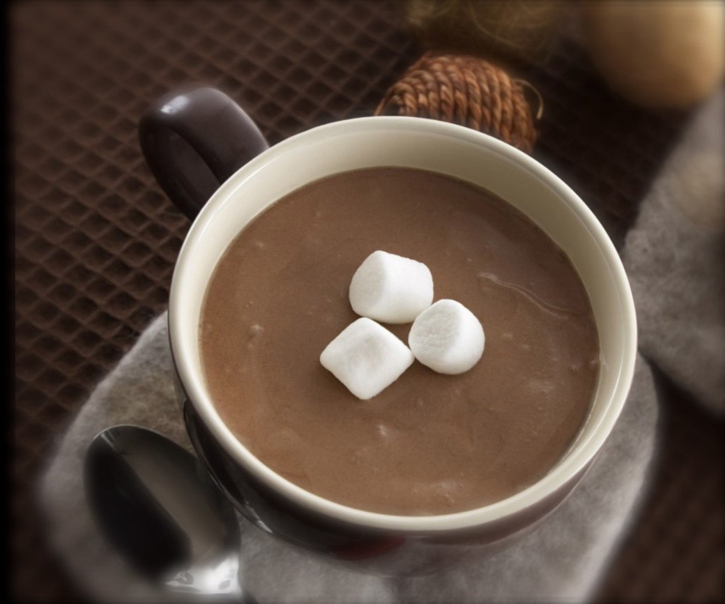 マシュマロホットチョコレート