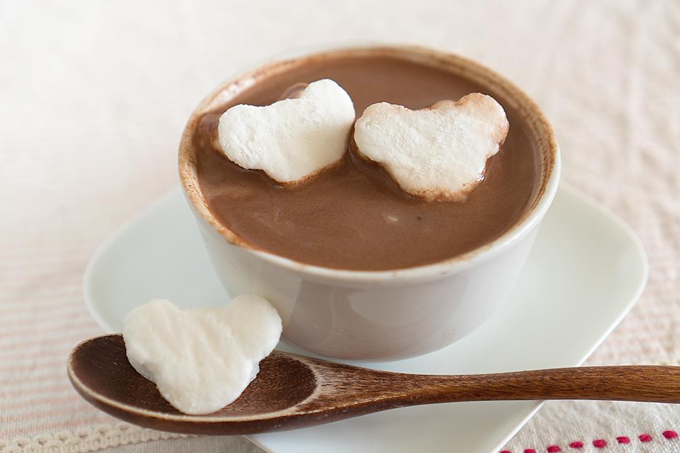 ホットチョコレート焼きマシュマロ