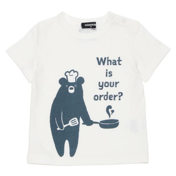 kladskap クッキングくまプリント入りTシャツ2