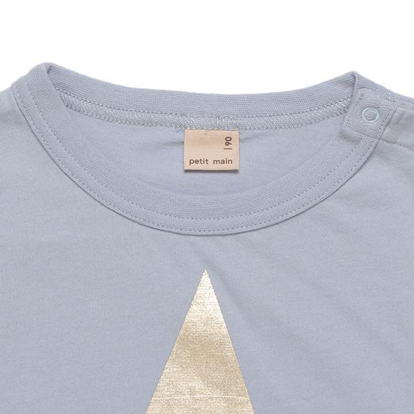 プティマイン スター箔プリント入りTシャツ3