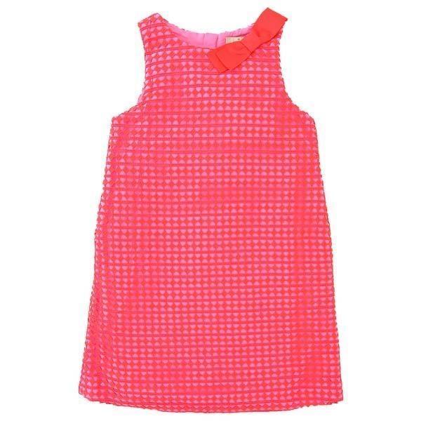 GIRLS' GUIPURE LACE DRESS