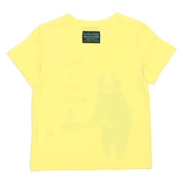 kladskap クッキングくまプリント入りTシャツ3