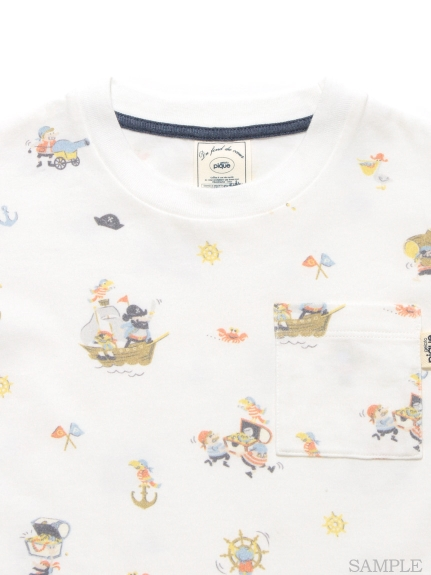 ジェラートピケ パイレーツkidsTシャツ2